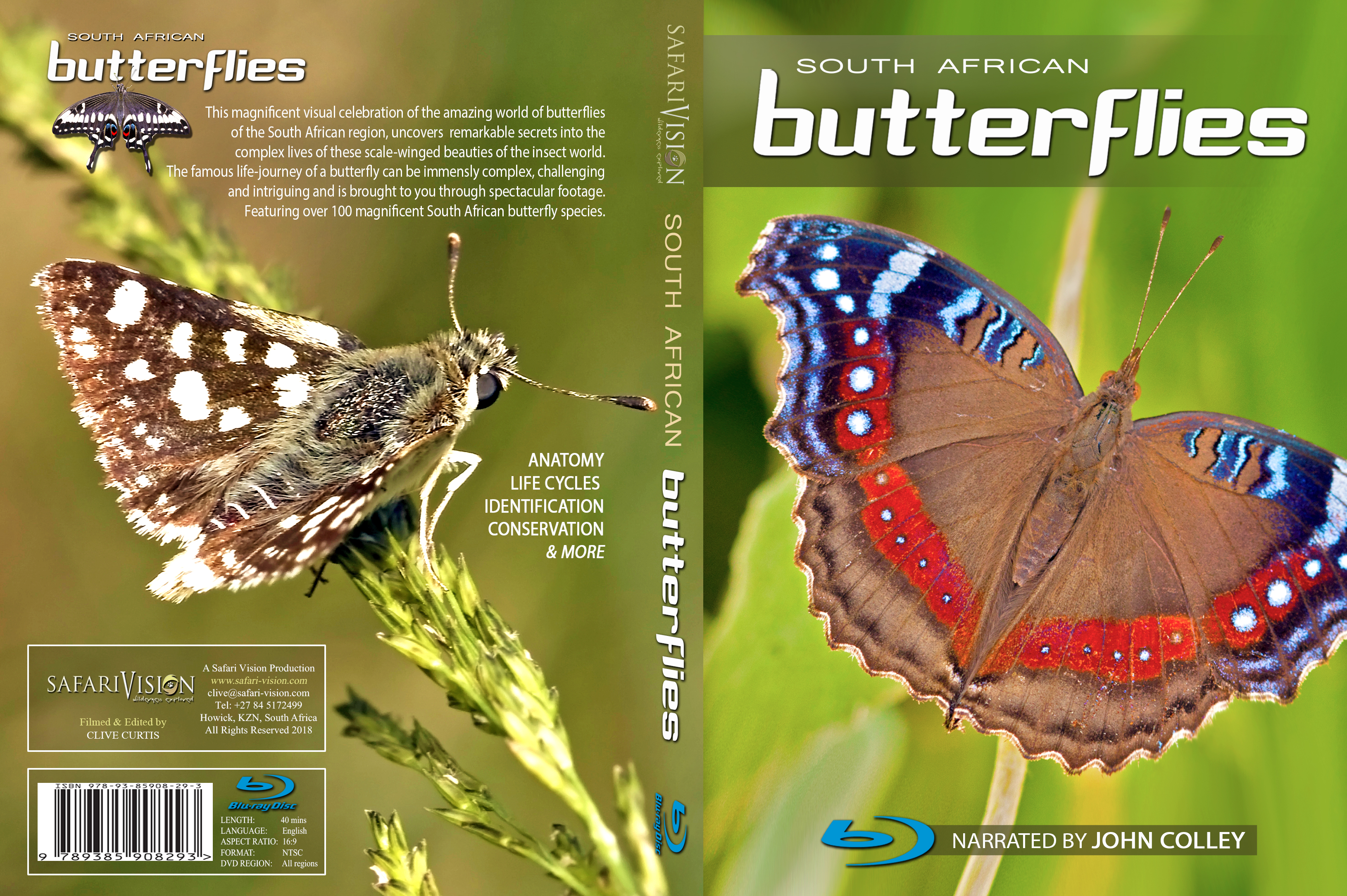 South African Butterflies, a Documentary.